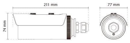 Vivotek IB8369 Dimensions