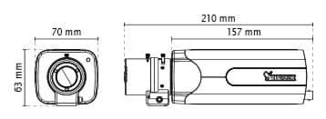 Vivotek IP9181-H Dimensions