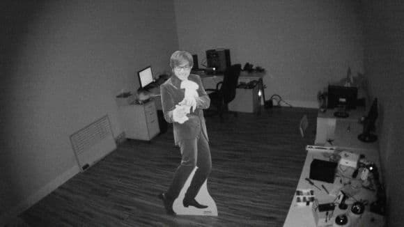 1080p IP Camera IR Night Mode Snapshot