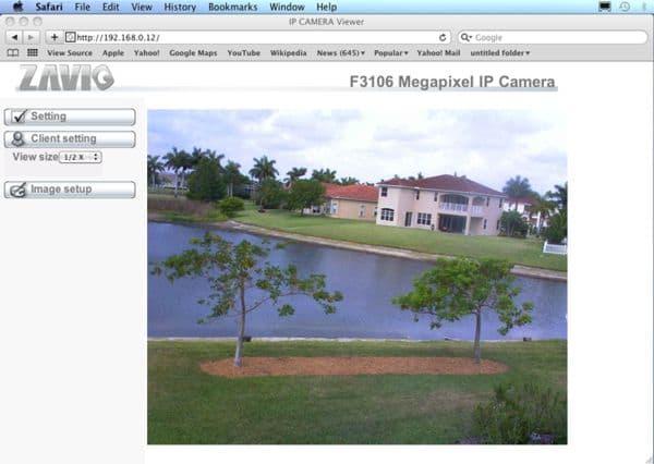 Mac Compatible IP Camera