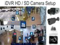 HD CCTV Camera Setup iDVR Surveillance DVR