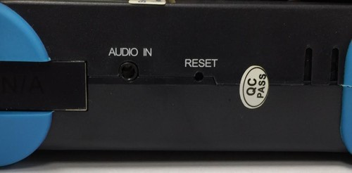 Test Monitor with Audio Tester and Reset