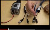 CAT5 Video & Power Balun