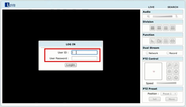 Live remote internet camera viewing setup for viewtron for Https pedro camera it login