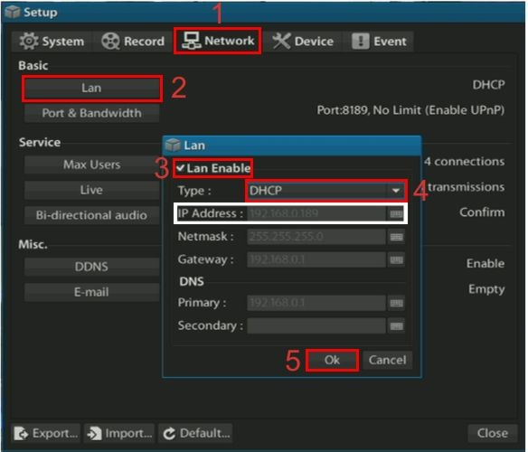 how to set your pc to scan