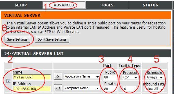 D-Link port forwarding | DIR-615 | DIR-825 | DIR-655 | DIR-628