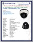 Pan Tilt Zoom Security Camera Spec