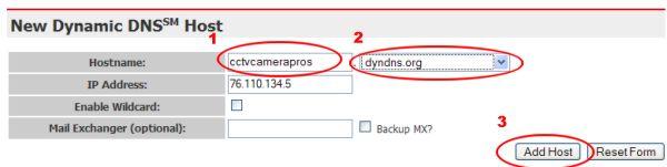 Add DNS Host