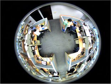Geovision 360 Surveillance Camera Gv Fe520d