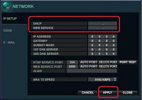 Surveillance Dvr Network Setup Port Forwarding Idvr Pro