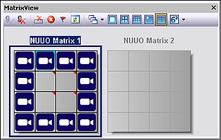 NUUO CMS - Live Matrix View
