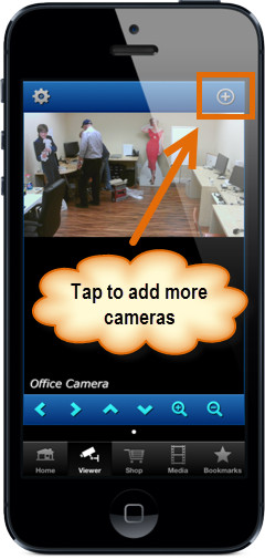 iPhone App Configure IP Camera