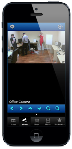 iPhone App Live IP Camera