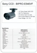 Security Camera Specification