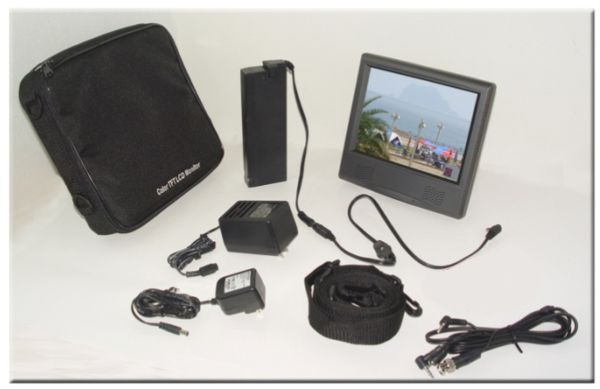 Portable LCD Monitor with VGA