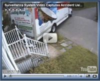 Surveillance Video Captures Accident