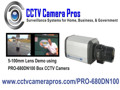 5-100mm varifocal lens cctv video