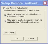 Geovision Setup Remote Authentication