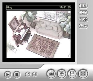 Geovision Webcam Single Camera View