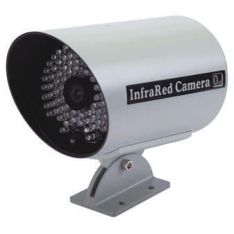 video security camera w high power infrared cctv camera pros. Black Bedroom Furniture Sets. Home Design Ideas