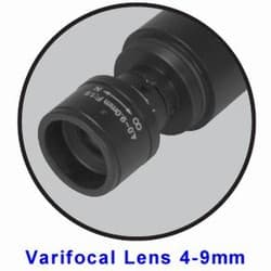 Varifocal Lens Bullet Camera