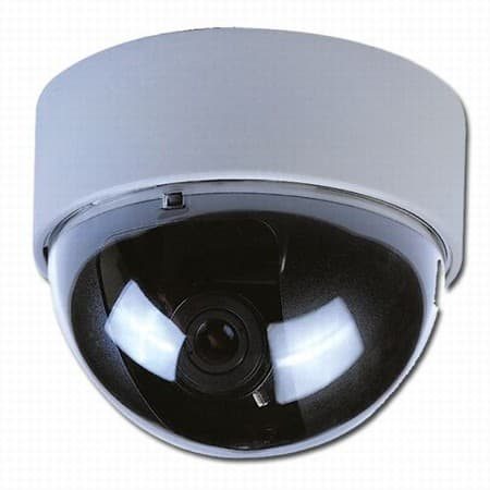 white dome camera cctv camera. Black Bedroom Furniture Sets. Home Design Ideas