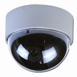 Fake Security Camera | White Dome