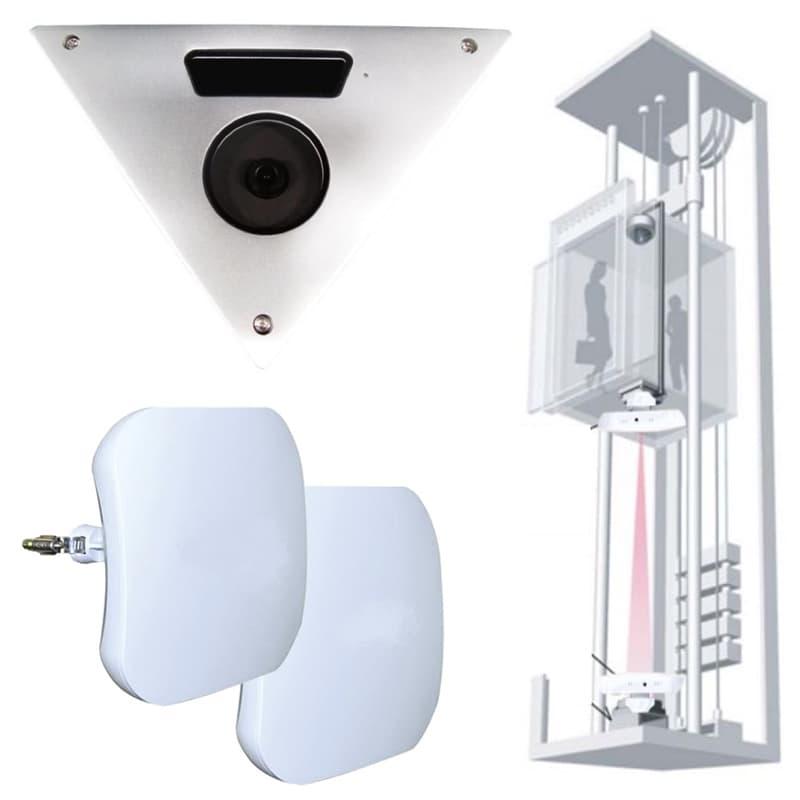 Elevator Surveillance Camera System Wireless Cctv Video