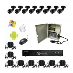 180 Degree HD CCTV System