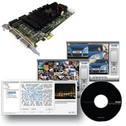 NUUO SCB-7008 8 Ch. DVR Card