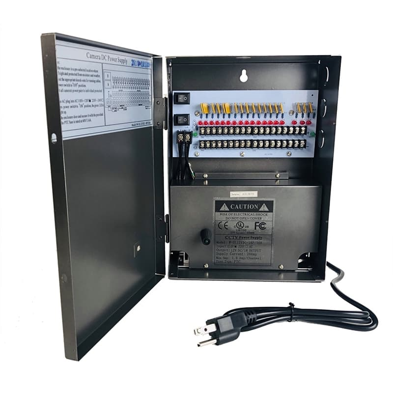 Surveillance Camera Power Supply Box