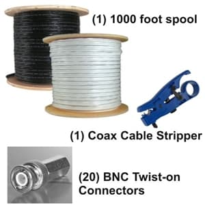 RG59 Coax Cable Kit