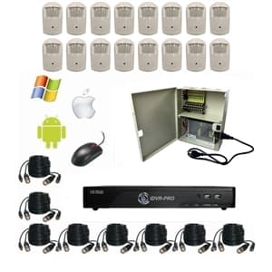 HD Hidden Surveillance Camera System