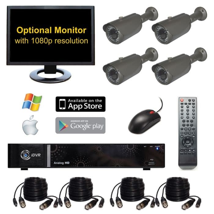 Hd home security cameras