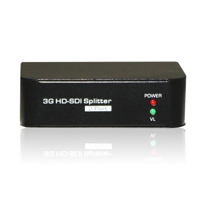 SDI Video Splitter | One BNC In, Two BNC Out | HD-SDI | 3G-SDI | SD-SDI
