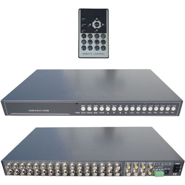 Video Mux Cctv Multiplexer 16 Channel