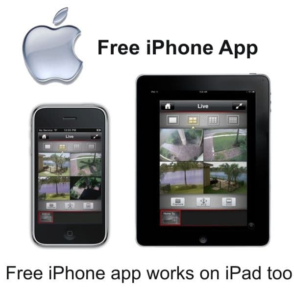 Iphone Video Surveillance Security Camera System