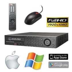 iDVR-PRO16M HD CCTV Camera System