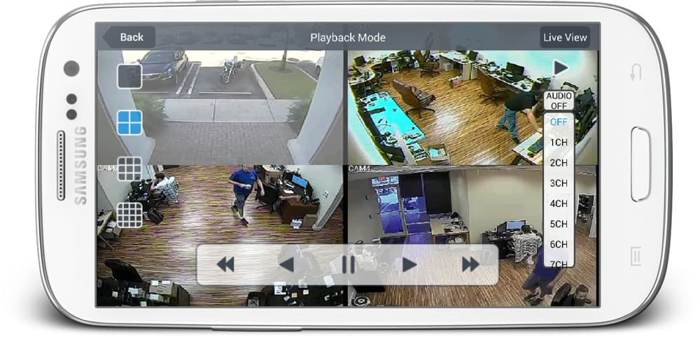 Android App Recorded Audio Surveillance Playback