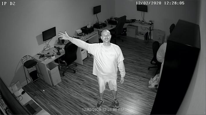 2mp IP Dome Camera IR Night Vision
