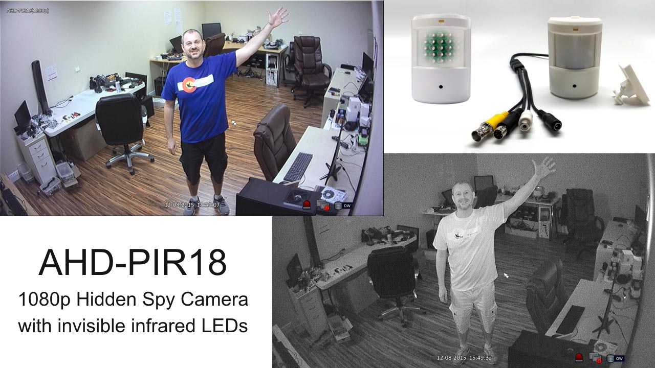 HD Hidden Spy Security Camera