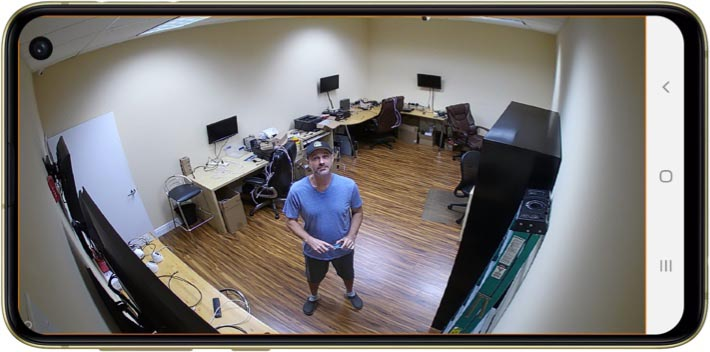 View Wireless IP Camera from Android App