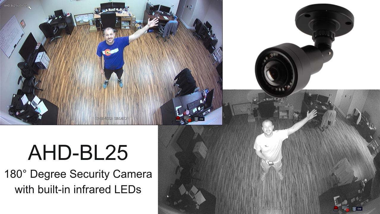 180 Degree Surveillance Camera