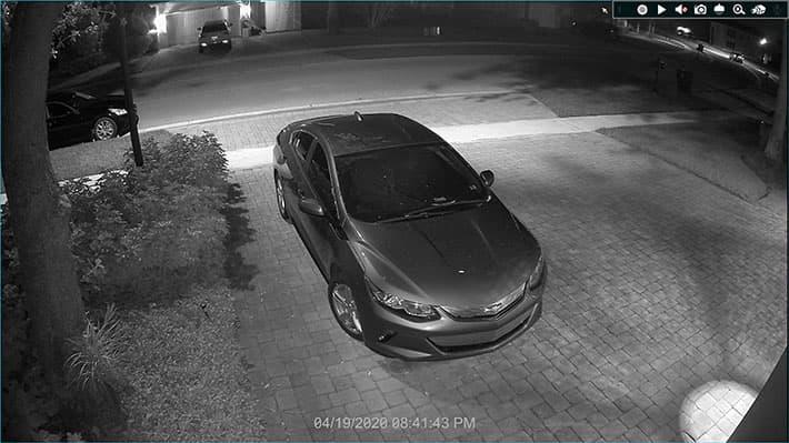 4K Outdoor Security Camera Home Installation