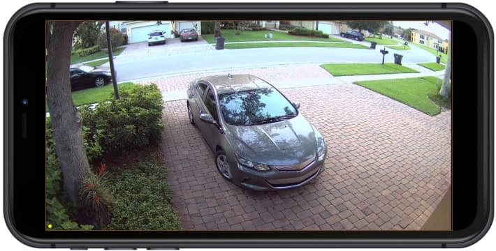 4K Outdoor Security Camera iPhone App