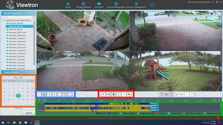 DVR Viewer Software