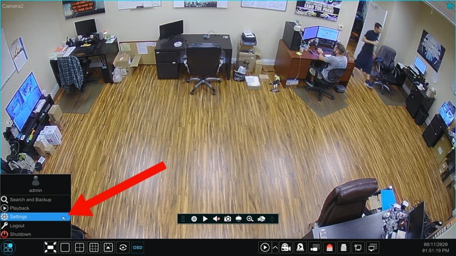 Connect IP Camera to BNC DVR