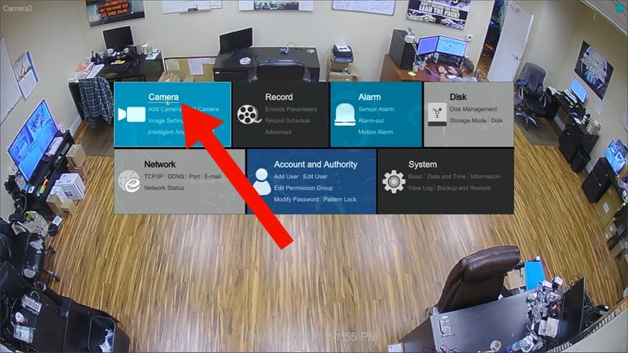 Connect IP Camera to CCTV DVR
