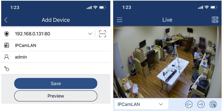 Android App IP Camera Network Search Tool