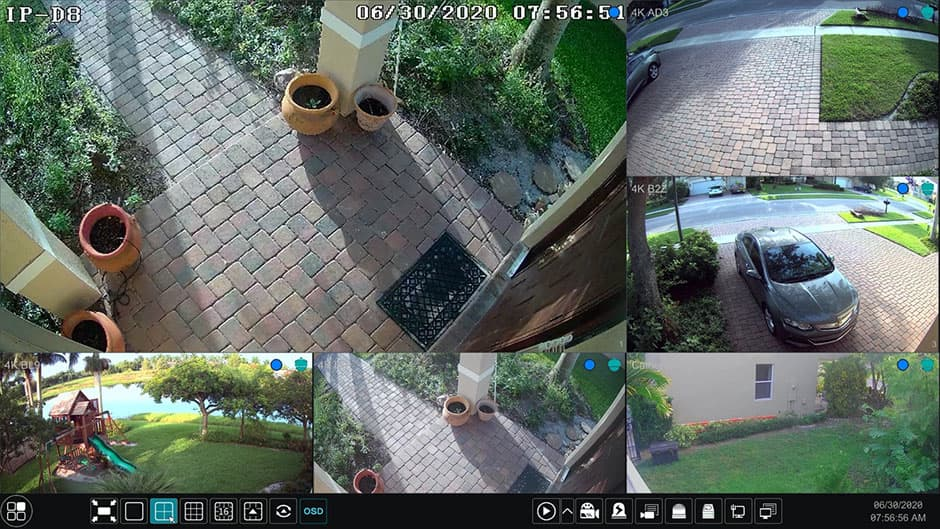 Hybrid 4K Security Camera DVR
